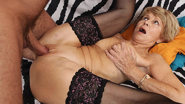 mature big cock 75 years old mom loves toyboy